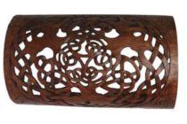 Kategoriebild Handmade Celtic & Elfen Holz Wand-Lampen