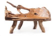 Kategoriebild Wurzelholz Sitzbänke