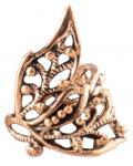 Boho Ohrklemme & Haarschmuck ~ JANINA ~ 1.7 cm - Elfenschmuck - Vintage Bronze - Windalf.de