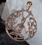Anhänger ~ CERNUNNOS ~ Keltischer Gott - Bronze - Windalf.de