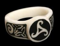 Knochenring Triskel Celtic - Windalf.de