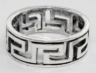 Ring ~ SIRA ~ Mäander - Silber - Windalf.de