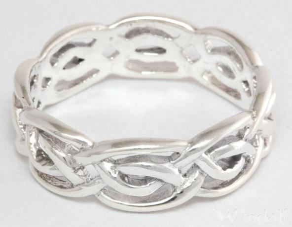 Ring Lian Keltischer Knoten Silber Celtic Kelten