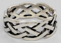 Ring ~ ÂKASA ~ Keltischer Knoten - Silber - Windalf.de
