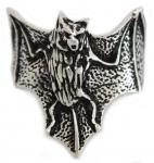 Ring ~ TARYN ~ Fledermaus - Gothic - Antik Silber - Windalf.de