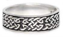 Ring ~ ARIAN ~ Keltische Knoten - Silber - Windalf.de