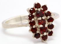 Ring ~ LUCIE ~ Blume des Mittelalters - Silber - Windalf.de