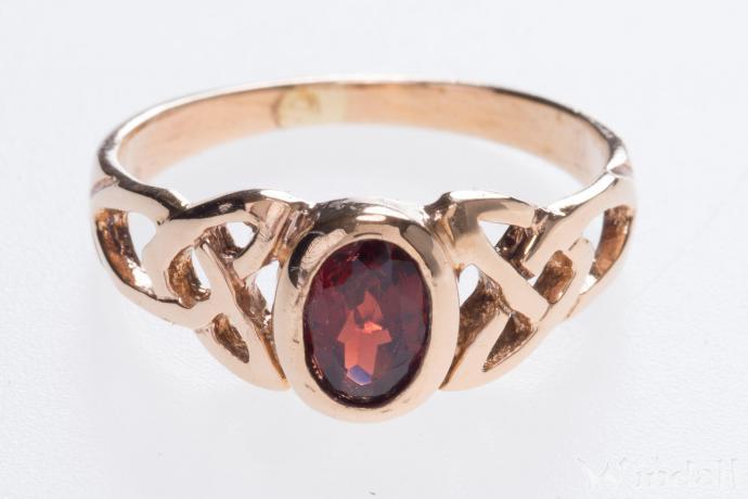 pagan ring brigantia h 0 7 cm celtic schmuck roter kristall vintage bronze. Black Bedroom Furniture Sets. Home Design Ideas