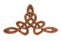 Holzbild ~ CELINA ~ b: 47 cm - Celtic Harmony - Handarbeit aus Holz - Windalf.de