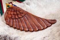 Flügel Wand Deko ~ LORELAY ~ h: 26 cm - Engelsflügel - Handarbeit aus Holz - Windalf.de