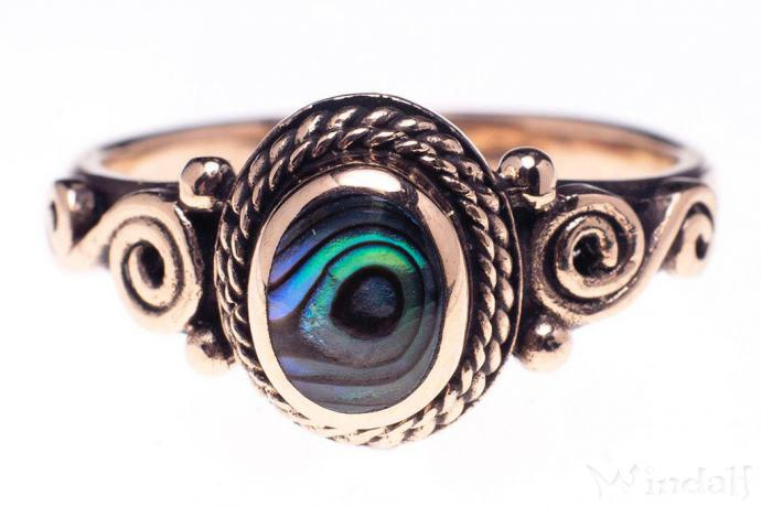 Ring ~ ALICE ~ SPIRALS ~ Seeopal - Bronze - Windalf.de