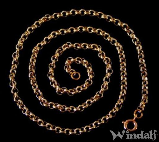 Wikinger Kette ~ FALK ~ l: 40 cm - Bronze - Windalf.de