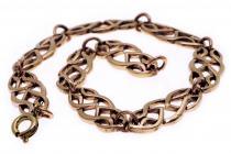 Keltische Armkette ~ RIGA ~ 19,5 cm - Kelten Schmuck - Bronze - Windalf.de
