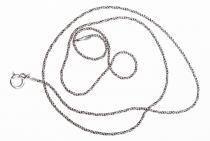 Historische Zarte Halskette ~ NORVINA ~ l: 45 cm - Silber - Windalf.de