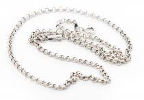 Feine Mittelalter Halskette ~ NILÀ ~ l: 57 cm - Vikings - Silber - Windalf.de