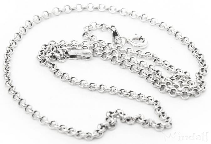 Feine Mittelalter Halskette ~ NILÀ ~ 57 cm - Vikings - Silber - Windalf.de