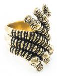 Wikinger Ring ~ AKÂRAK ~ Anderswelt - Bronze - Windalf.de