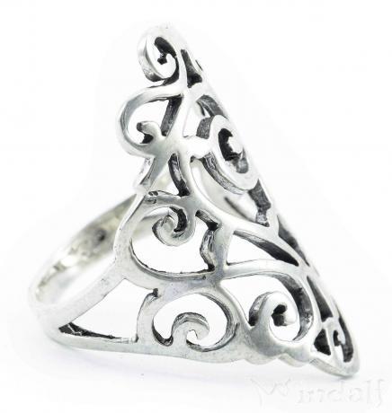 Ring ~ ALÍSÍA ~ Spirals - Silber - Windalf.de