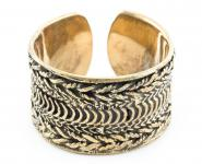 Breiter Wikinger Ring ~ TALÎSIA ~ Bronze - Windalf.de