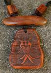 Holzkette ~ Odins Maske ~ Holz - Windalf.de