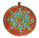 Anhänger ~ JUNA ~ Mittelalter Amulett - Bronze - Windalf.de
