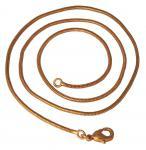 Schlangenkette ~ RIGANI ~ l: 46 cm - Bronze - Windalf.de
