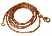 Schlangenkette ~ RIGANI ~ l: 56 cm - Bronze - Windalf.de