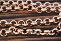 Wikingerkette ~ THURA ~ l: 41 cm - Bronze - Windalf.de