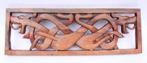 Kelten Wandbild ~ CULAIN ~ b: 44.5 cm - Keltische Hunde - Handarbeit aus Holz - Windalf.de