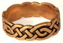 Keltischer Freundschafts-Ring ~ DORIAN ~ 6 mm - Keltische Welten - Bronze - Windalf.de
