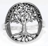 Ring ~ LINDGARD ~ Zauberlinde ~ Silber - Windalf.de