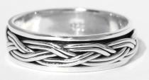 Wikinger Ring ~ THORUN ~ Drehring - Vikings - Silber - Windalf.de