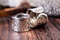 Wikinger Ring ~ ARWIN ~ Handgeschmiedet - Silber - Windalf.de
