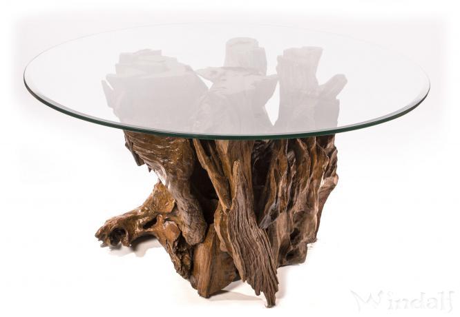 gro er beistelltisch b ch rd pr sentations tisch h he 61 cm unikat aus wurzelholz. Black Bedroom Furniture Sets. Home Design Ideas