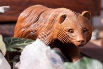 Holz Figur ~ BÖR ~ Kleiner Bär - aus Holz - Windalf.de