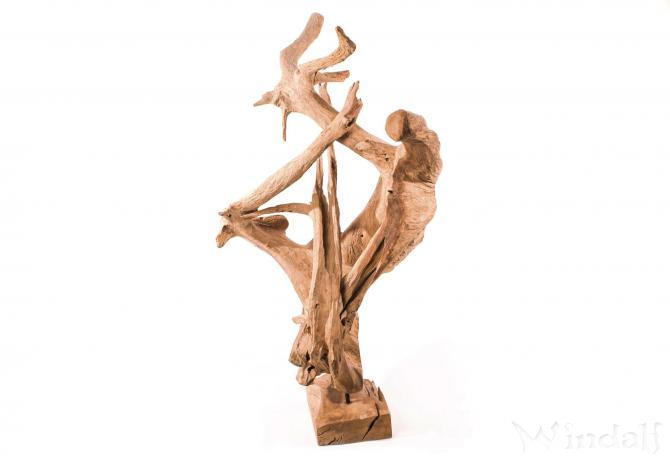 Wurzel Deko große wurzel-deko ~ pany ~ unikat - 174 cm - wurzelholz - wurzel