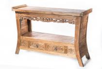 Anrichte ~ DAVY ~ Old Style - Sideboard - Recyceltes Teakholz - Windalf.de