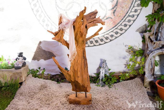 Wurzel deko holzskulptur legolas h 176 garten holz - Wurzel deko garten ...