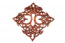 Celtic Wandbild ~ DARWO  ~ h: 42 cm - Keltische Knoten - Handarbeit aus Holz - Windalf.de