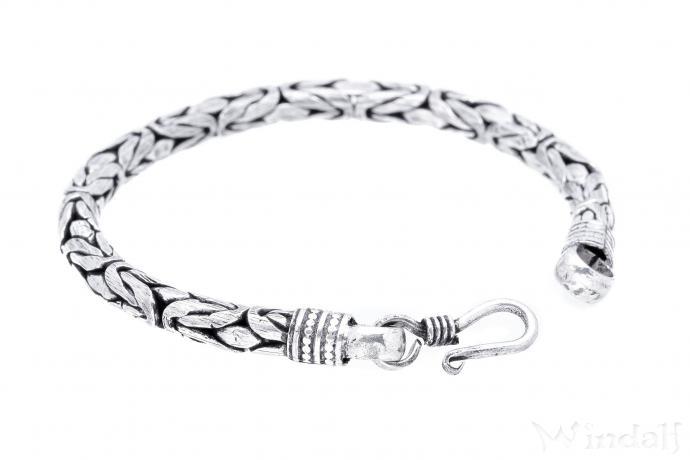 Wikinger Damen Armschmuck ~ REGIA ~ 22 cm - Königskette - Handarbeit aus Metall - Windalf.de